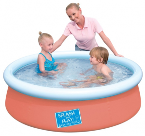Piscina autoportable redonda for Piscinas familiares desmontables