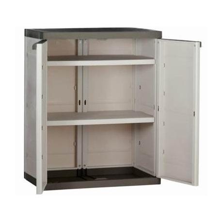 Mant n tu casa en orden con un armario de resina para el jard n o terraza - Armarios terraza resina ...