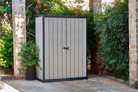 Mantén tu casa en orden con un armario de resina para el jardín o terraza