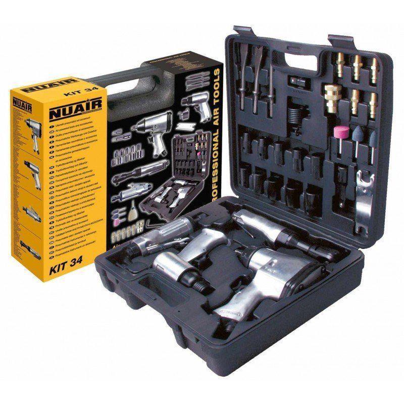 maquinaria-neumatica-pistola-aire-comprimido-Nuair