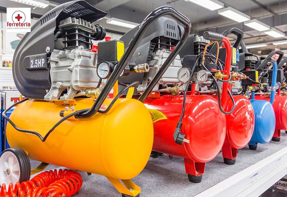 Tipos de compresores existentes y para qué se usa cada uno