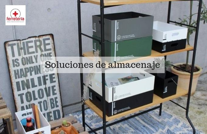 Las mejores soluciones de almacenaje en el hogar
