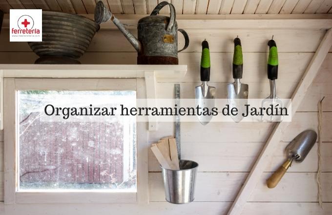 Cómo guardar herramientas de jardín