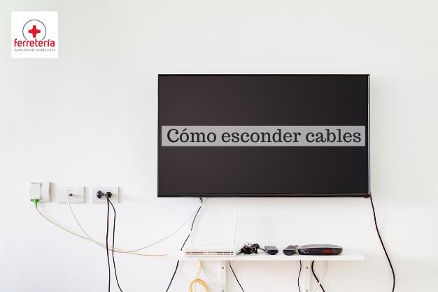 Como esconder cables