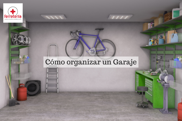 como organizar un garaje