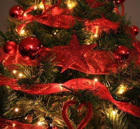 Comprar adorno navidad decoracion bola set 17 juinsa 6 cm for Arbol de navidad con bolas rojas