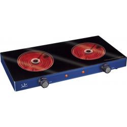 Cocina Elec 51x8x31cm Vitro Jata Vidrio Az V142 2400w 2 Plac
