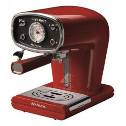 Cafetera Elec Espresso 22,50x30x35cm 900w Met Retro Ariete