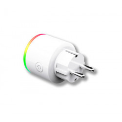 Enchufe Wifi Intel. Energeeks Pl Bl Con Luz Multicolor Eg-ew