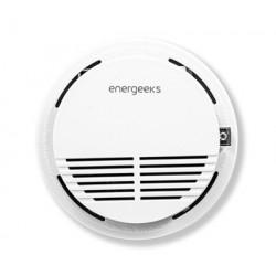 Detector Wifi Energeeks Pl Bl Para Alarma Eg-aw001 Humo Eg-a