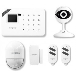 Alarma Wifi/gsm +camara Ip Kit Accesorio Energeeks Pl Bl Eg-