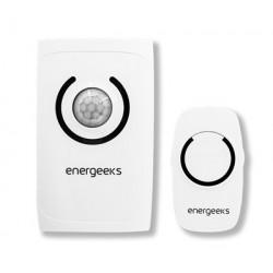 Alarma Inalambrica Mini Energeeks Pl Bl C/detector Mvto. Eg-