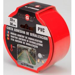 Cinta Adh 50mmx33mt Señalizacion Target Pvc Ro C13r3350