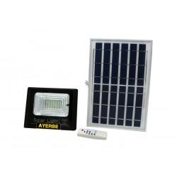 Foco Solar 25w 36leds  960lm Ayerbe Ne Mando Distancia 62063
