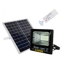 Foco Solar 60w 100leds Ayerbe Ne Mando Distancia 620640