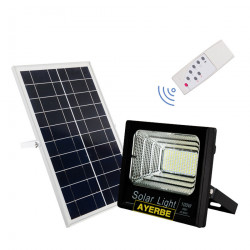 Foco Solar 100w 120leds Ayerbe Ne Mando Distancia 620645