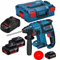 Martillo Bat Perf 1,7j/18v/3bat Gbh 18 V-ec Sds Plus Bosch 1