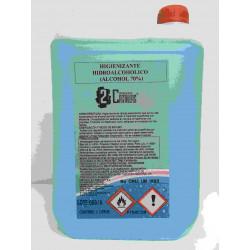 Limpiador Desinfectante 5lt Hidroalcoholico Dos Castillas 20