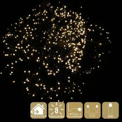 Luz Nav. 8 Func. Led 500 Luces Calido Juinsa