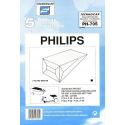 Bolsa Aspirador Philips Amst.5p.705