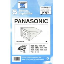 Bolsa Aspirador Papel Panasonic Mc90 910707 Thogar 5 Pz Rf