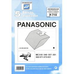 Bolsa Aspirador Panasonic Mc571 5p.710
