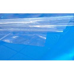Hule Mesa 1,40x50m Pvc Tra Cristal Transparente 0,10 Dintex