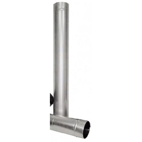 Tubo Estufa Liso Galvanizado 110mm 7500004