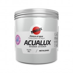 Pintura Manualid. Al Agua 250 Ml Pla Satin. Metal. Acualux T