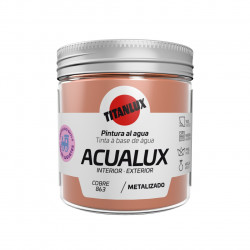 Pintura Manualid. Al Agua 75 Ml Cobre Satin. Metal. Acualux