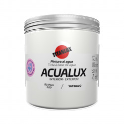 Pintura Manualid. Al Agua 250 Ml Bl Satin. Acualux Titan