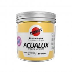 Pintura Manualid. Al Agua 75 Ml Ama/pri Satin. Acualux Titan