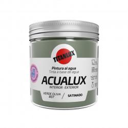 Pintura Manualid. Al Agua 75 Ml Ver/ol Satin. Acualux Titan