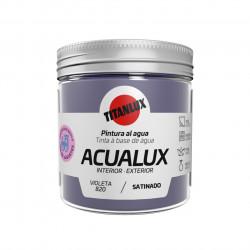 Pintura Manualid. Al Agua 75 Ml Viol Satin. Acualux Titan