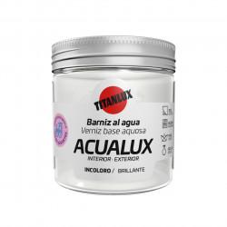 Barniz Manualid. Al Agua 75 Ml Inc. Brillante Acualux Titan
