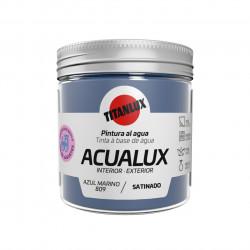 Pintura Manualid. Al Agua 75 Ml Az/mar Satin. Acualux Titan