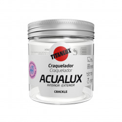 Barniz Manualid. Al Agua 75 Ml Inc. Brillante Acualux Craque