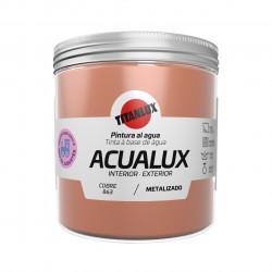 Pintura Manualid. Al Agua 250 Ml Cobre Satin. Metal. Acualux