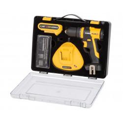 Taladro Perc. 20v Li Brushless 1 Bateria Mal Powerplus
