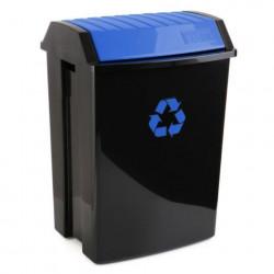 Contenedor Recic. 50 Lt 40x35,5x57,5cm Tatay Pl Azul 1102300