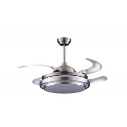 Ventilador Clima 4250lm Techo Cristalrecord Ac Pla Klon 50w-
