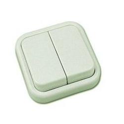 Interruptor Doble Kristal 20300012-10