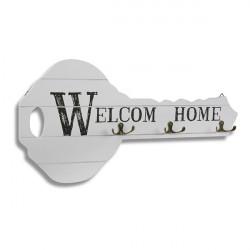 Portallaves Welcome Home 51x26 Cm