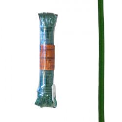 Cable Acero Forrado 4mm Verde 20 M