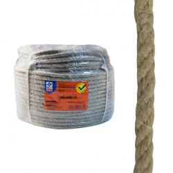 Cuerda CaÑamo 4 C. Bobina 10mm 100 M