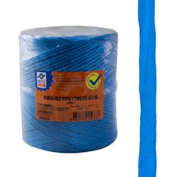Cuerda Rafia 1 C.bobina Azul 400 G