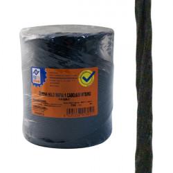 Cuerda Rafia 1 C.bobina Negro 750 G