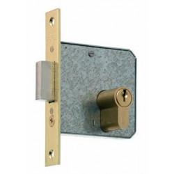 Cerradura Embutir Palanca,entr.35mm Canto Recto Lt 1512-2-35