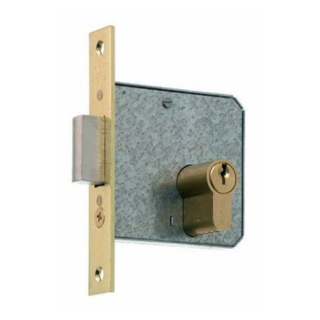 Cerradura Embutir Palanca,entr.45mm Canto Recto Lt 1512-2-45