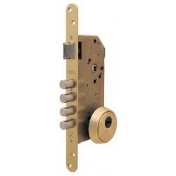 Cerradura Seguridad Embutir R200b 1p 50mm Laton  R200b566l